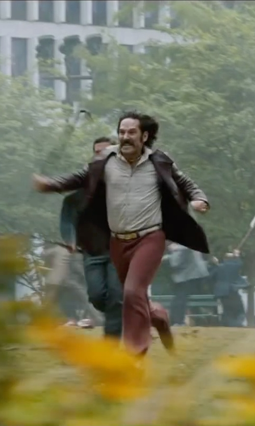 Paul Rudd with Incotex Chinolino Trousers in Anchorman 2: The Legend Continues