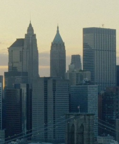Unknown Actor with 40 Wall Street - The Trump Building New York City, New York in John Wick