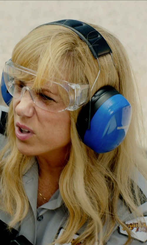 Kristen Wiig with MSA Safety Works Over Economical Safety Glasses in Masterminds