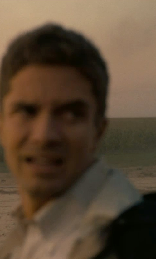 Topher Grace with Our Legacy First Button Down Shirt in Interstellar