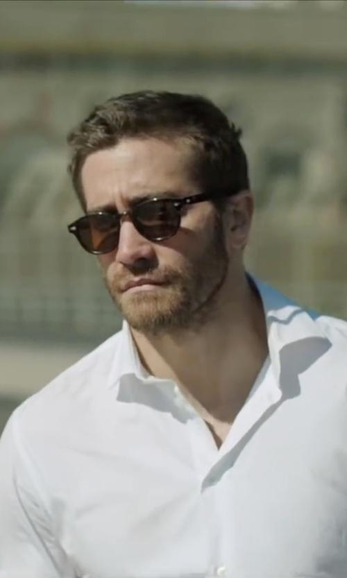 Jake Gyllenhaal with Moscot Lemtosh Tortoise Sunglasses in Demolition