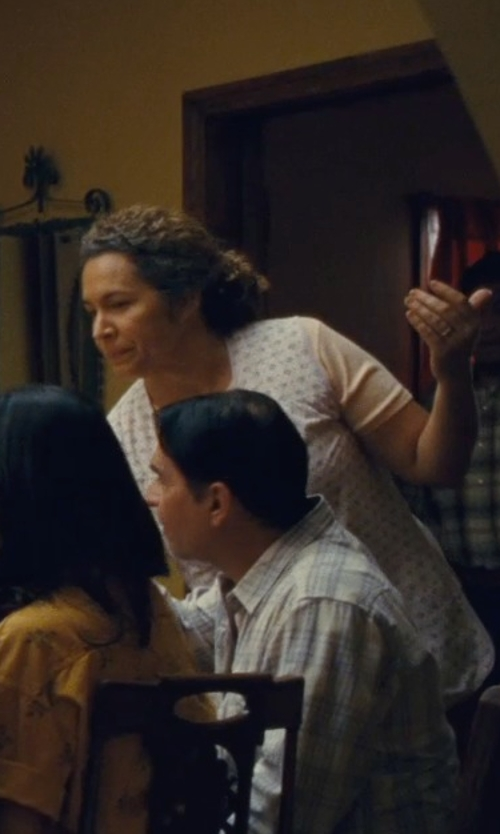 Diana Maria Riva with Rag & Bone/Jean Floral Dot Tee in McFarland, USA