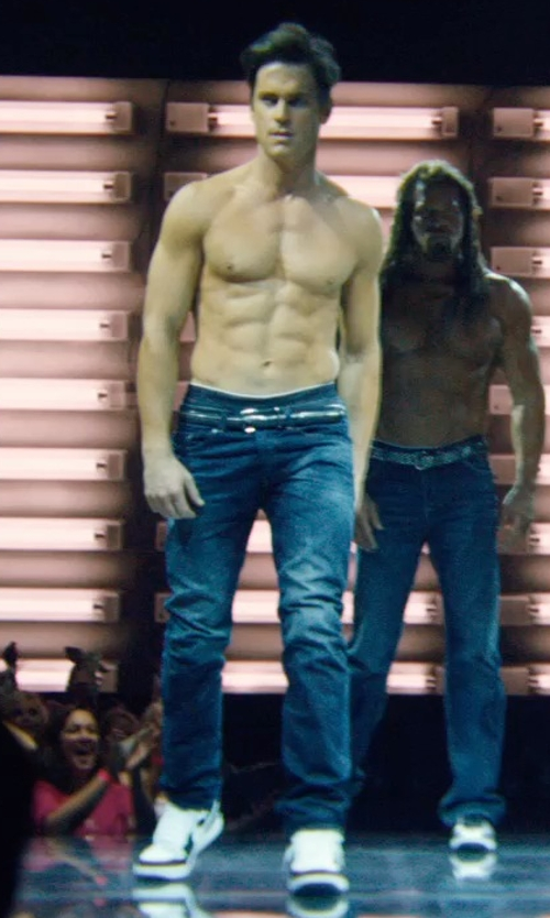 Matt Bomer with Y-3 Low-Top Sneakers in Magic Mike XXL