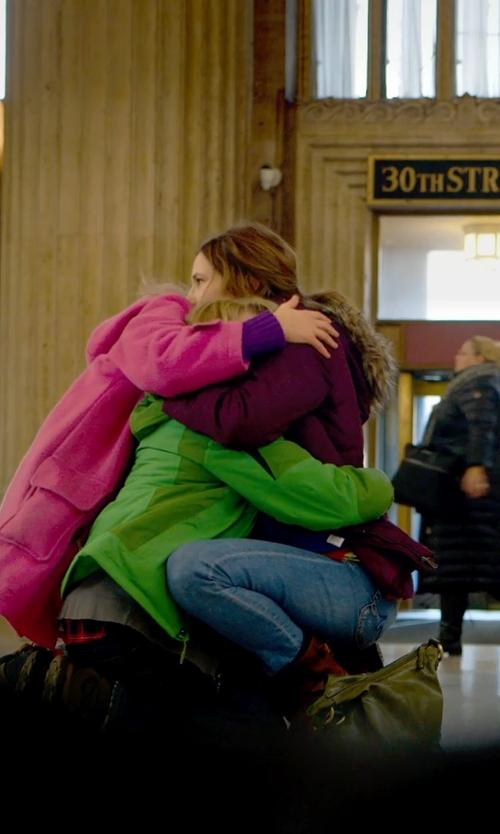Kathryn Hahn with Hobo Phoebe Hobo Shoulder Bag in The Visit