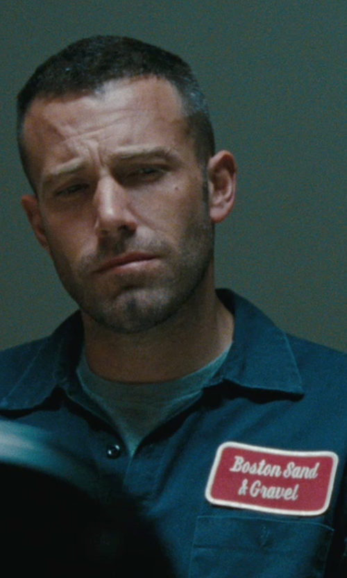 Ben Affleck with Billy Reid Donavan Workshirt in The Town