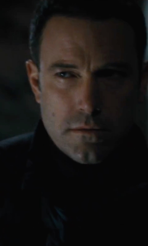 Ben Affleck with G-Star Raw Men's Batt Quilted Bomber Jacket in The Accountant