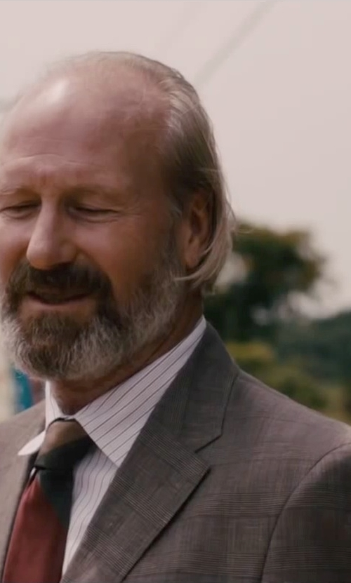 William Hurt with Nautica Men's Plaid 2 Button Center Vent Blazer in The Disappearance of Eleanor Rigby