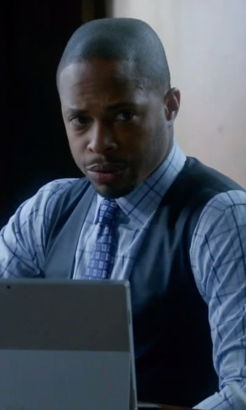 Columbus Short with Topman Textured Vest in Scandal