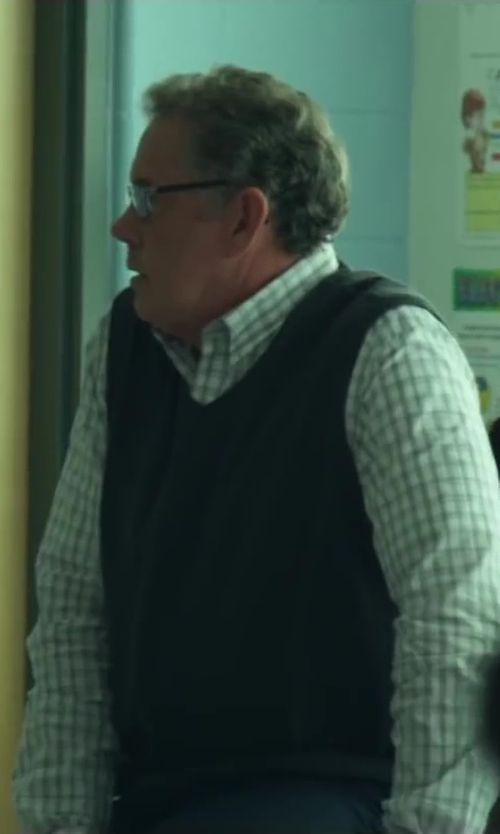 Unknown Actor with Mirto Check Dress Shirts in Project Almanac