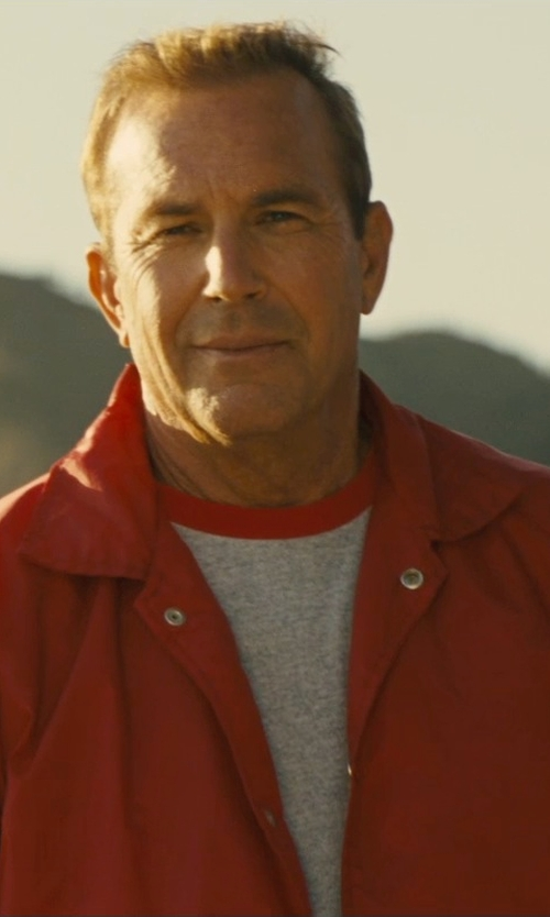 Kevin Costner with Dickies Men's Messenger Jacket in McFarland, USA