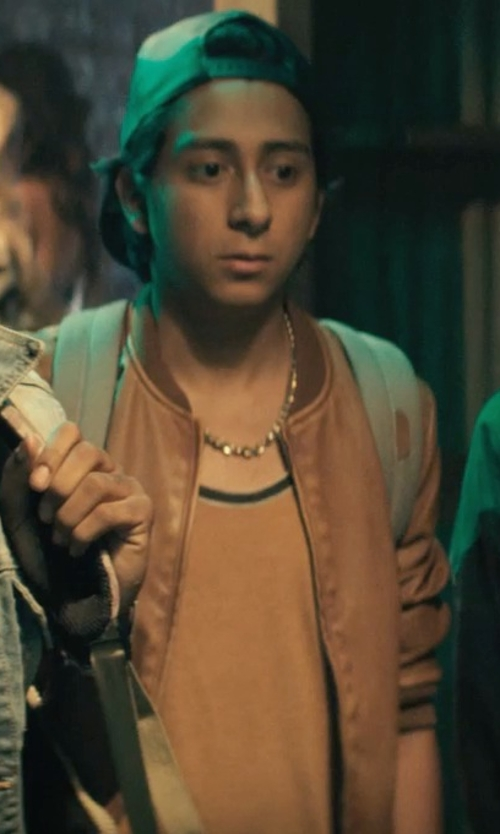 Tony Revolori with Urban Pipeline Solid Tank Top in Dope