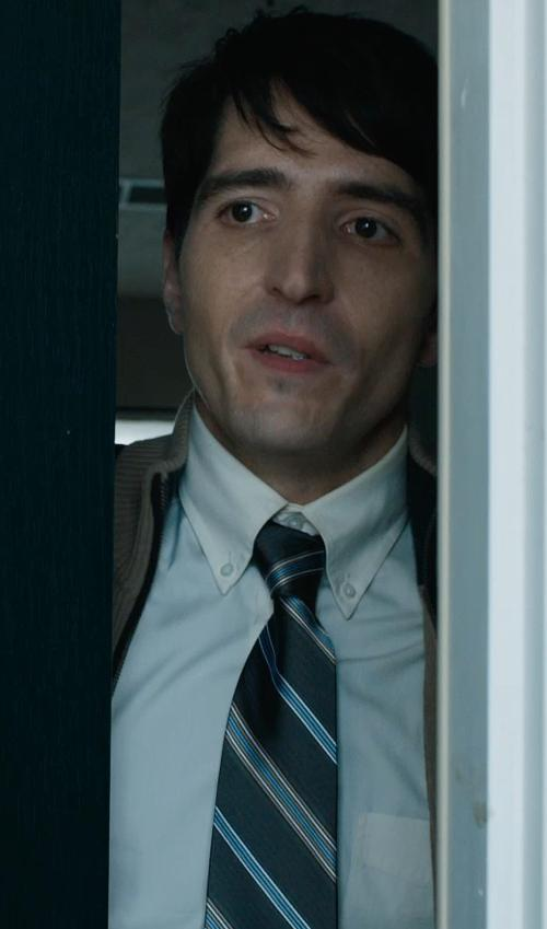 David Dastmalchian with Canali Solid Dress Shirt in Prisoners