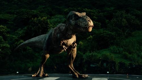 No Actor with InGen Tyrannosaurus Rex in Jurassic World