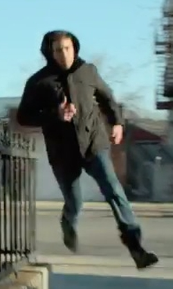 Jon Bernthal with Timberland Kendrick Side Zip Leather Boots in Marvel's The Punisher