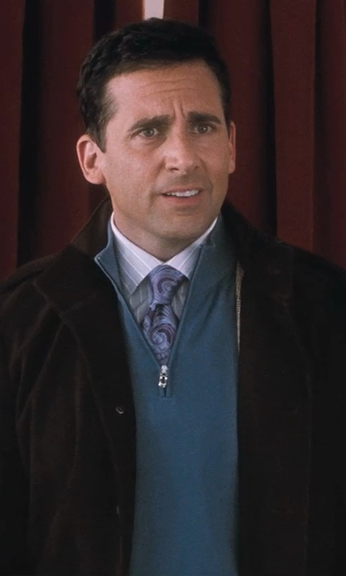 Steve Carell with Canali Regular Fit Dress Shirt in Crazy, Stupid, Love.