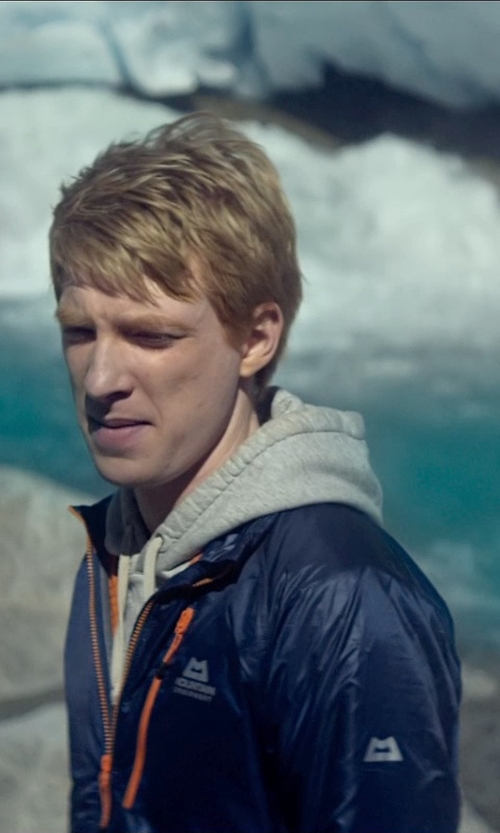 Domhnall Gleeson with Mountain Equipment Kinesis Jacket in Ex Machina