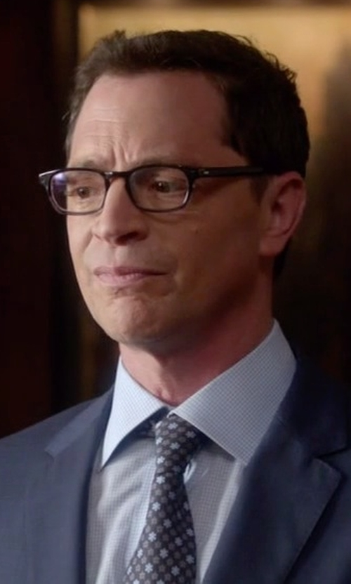 Joshua Malina with Spy Optic Finn Eyeglass in Scandal