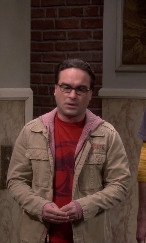 Johnny Galecki with Vintage Buddy Nerd Wayfarer Glasses in The Big Bang Theory