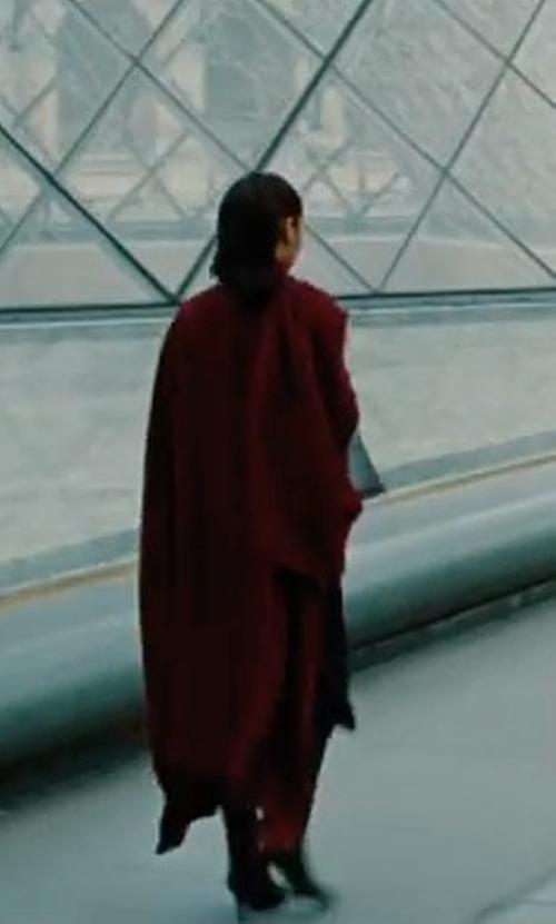 Gal Gadot with Mackage Nori Coat in Wonder Woman