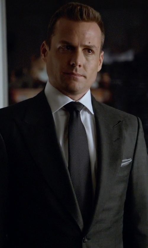 Gabriel Macht with Givenchy Classic Formal Suit in Suits
