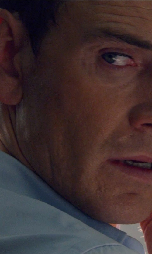 Michael Fassbender with Google Nexus 5 Phone in The Counselor