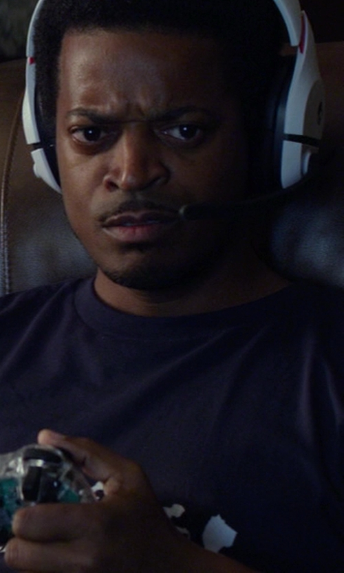 Lucius Baston with Microsoft Xbox 360 Wireless Controller in Ride Along