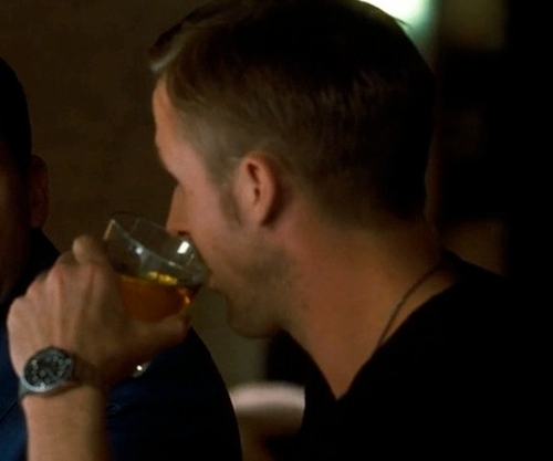 Ryan Gosling with Rolex Submariner Watch in Crazy, Stupid, Love.