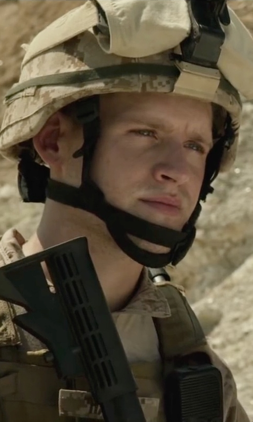 Luke Kleintank with Ops-Core Fast Ballistic High Cut Helmet in Max