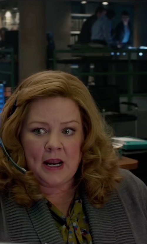 Melissa McCarthy with Plantronics Multimedia Headset in Spy