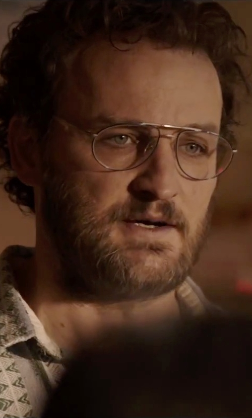 Jason Clarke with Porsche Design Authentic Men Vintage Eyeglasses in Everest