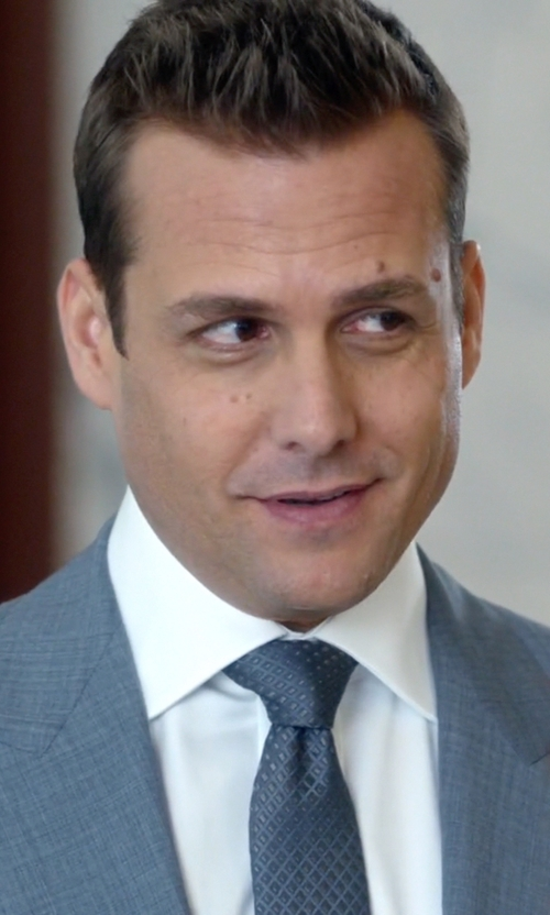 Gabriel Macht with Banana Republic Textured Micro-Paisley Silk Tie in Suits