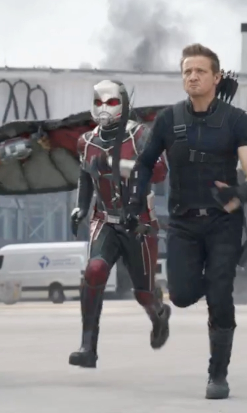 Paul Rudd with Judianna Makovsky (Costume Designer) Custom Made Ant-Man Costume in Captain America: Civil War