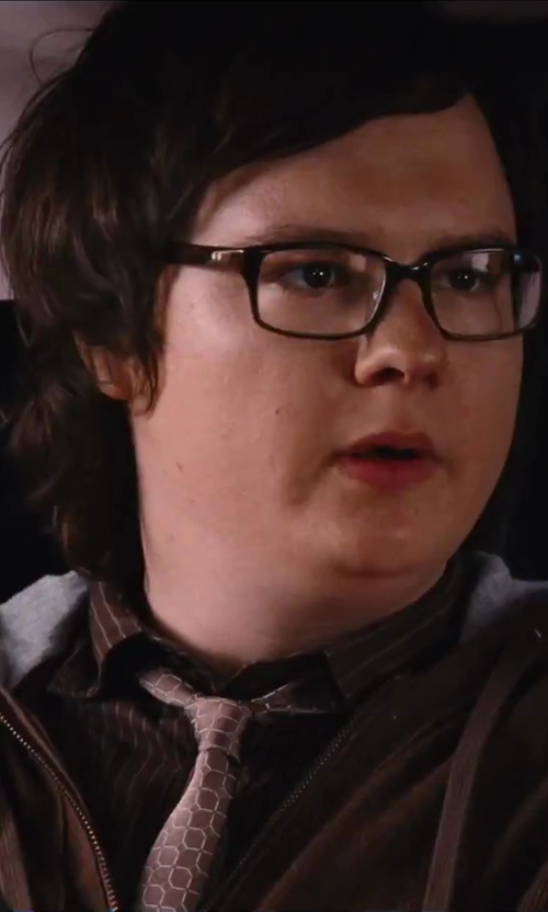 Clark Duke with Quiksilver Men's Base Nectar Hoodie Jacket in Hot Tub Time Machine 2