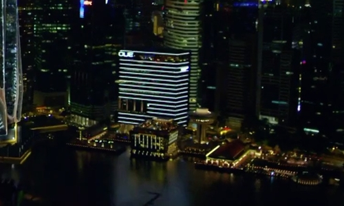 Unknown Actor with Oue Bayfront Singapore in Hitman: Agent 47
