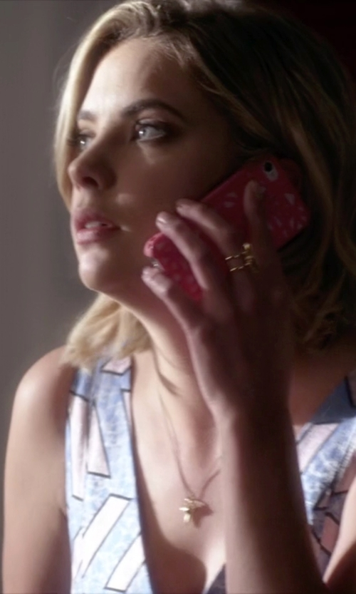 Ashley Benson with Stella & Dot Rebel Ring in Pretty Little Liars