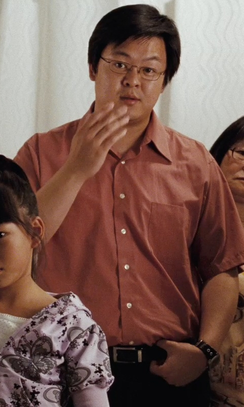 Kevin Leung with Billabong Woven Shirt in (500) Days of Summer