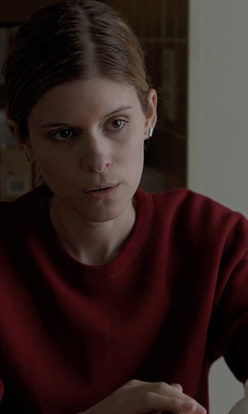 Kate Mara with J.Jill Pure Jill Plush Pullover in Captive
