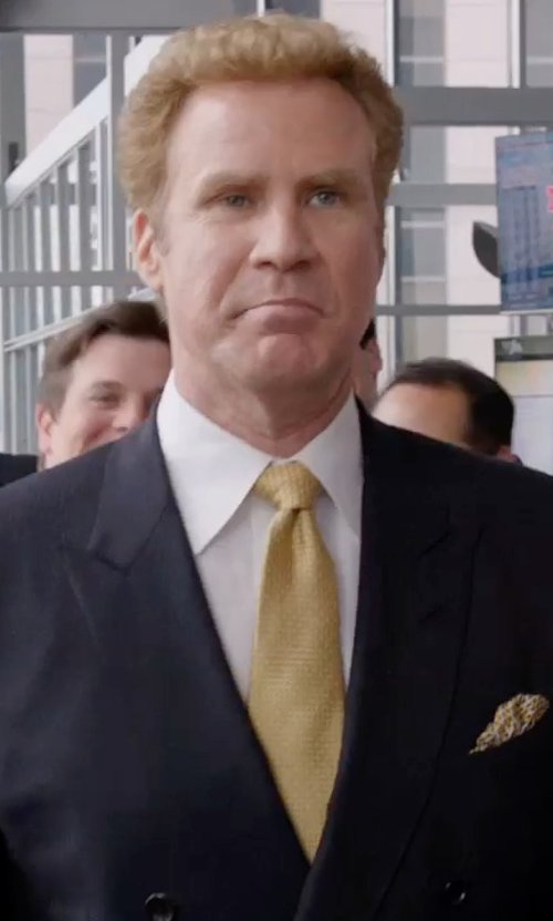 Will Ferrell with Charvet Solid Poplin Dress Shirt in Get Hard