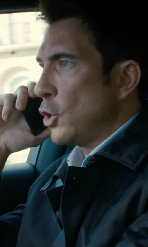 Dylan McDermott with Burberry Brit Single Breasted Coat in Survivor