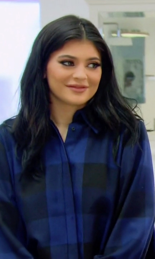Kylie Jenner with Houghton Tammie Dress in Keeping Up With The Kardashians
