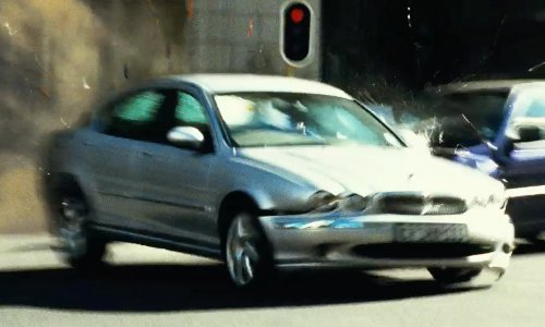 Unknown Actor with Jaguar 2008 X-Type in Safe House