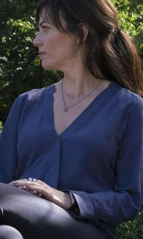 Maggie Siff with C&C California Annie Top in Billions
