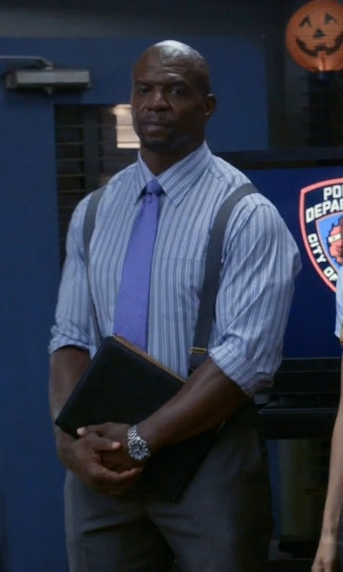 Terry Crews with Fossil 'Breaker' Watch in Brooklyn Nine-Nine