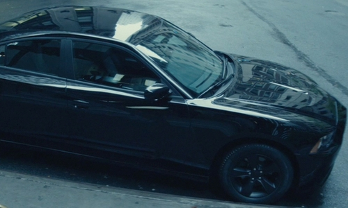 Keanu Reeves with Dodge Charger Muscle Car in John Wick
