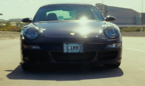 Jonah Hill with Porsche 911 Carrera 4S Coupe in War Dogs