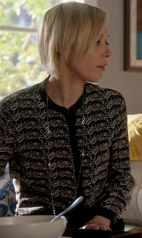 Liza Weil with Lafayette 148 New York Studio Tweed Keaton Jacket in How To Get Away With Murder