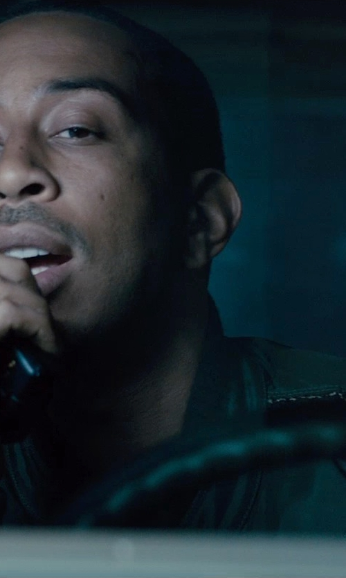 Ludacris with Icom Handheld Transceiver in Furious 7