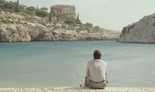 Brad Pitt with Mgarr ix-Xini Maltese, Italy in By the Sea