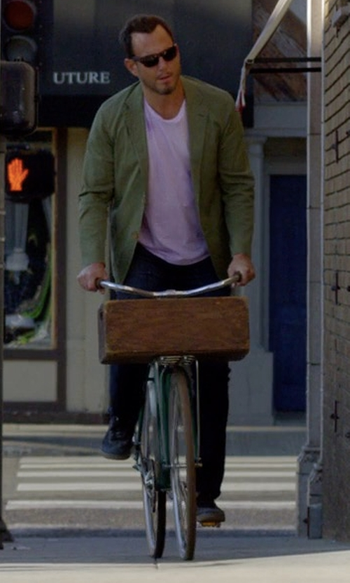 Will Arnett with Linus Roadster Classic Bicycle (Modified) in Flaked