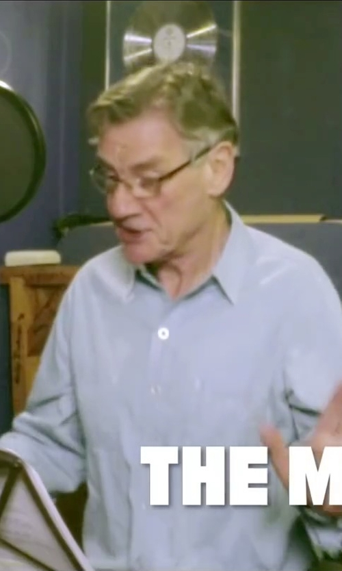 Michael Palin with Montblanc Rimless Metal Frames Eyeglasses in Absolutely Anything